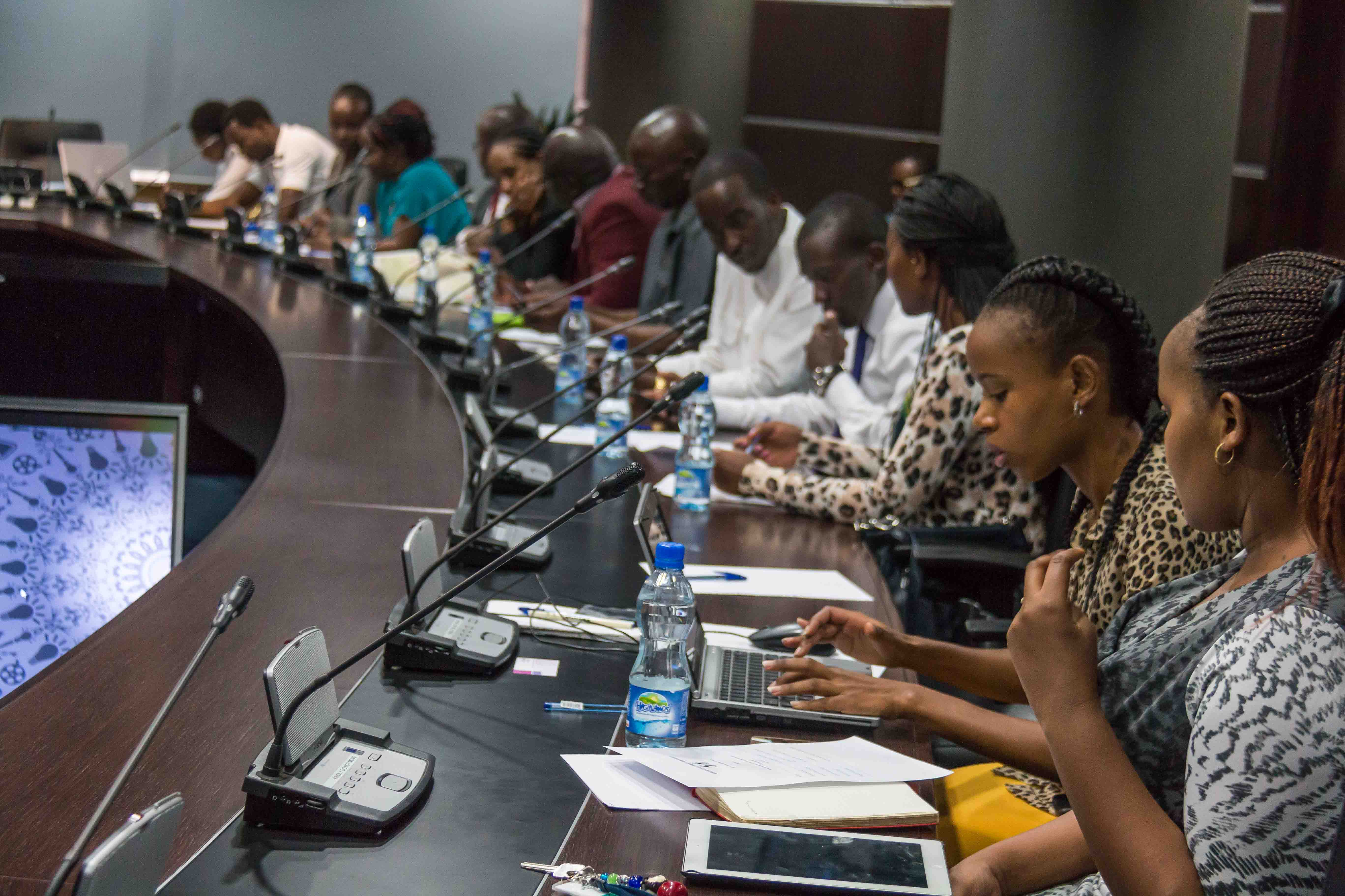 RU Students visit African Development Bank