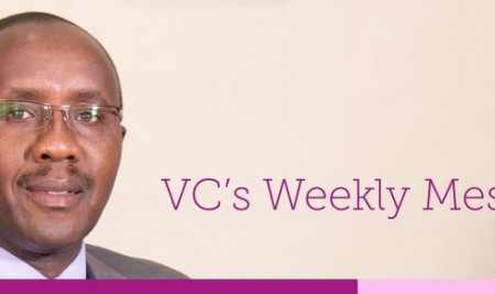 VC's Weekly Message