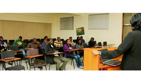 Guest Lecture by Prof Uche Ewelukwa of University of Arkansas School of Law