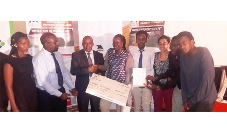 Riara School of Business Students Excel at the Capital Markets University Challenge 2015-2016